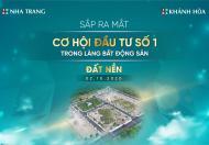 Đất nền sắp ra mắt full thổ tại Nha Trang
