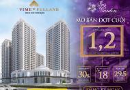 Căn góc Iris Mỹ Đình 3pn 133m2 giá tốt nhất khu vực, nhận nhà ngay