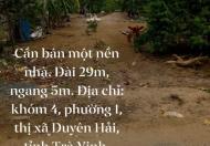 Chính chủ bán nhanh lô đất đẹp gía rẻ vị trí đắc địa tại thị xã Duyên Hải- TRà Vinhh