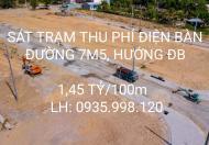 Đường 7m5, sát trạm thu phí Điện Bàn. 1.41 TỶ