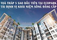 Cơ hội sở hữu căn hộ chung cư cao cấp S- Premium tại Ecopark,chỉ đóng 15% ký hđnb,vay 80% ls=0 24T