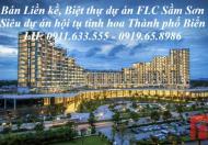 Bán đất LK 15 FLC Lux City Sầm Sơn – Thanh Hóa. Cách đường Hồ Xuân Hương 100m. Giá chỉ 14tr/m2