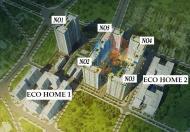 Chính chủ cần bán gấp căn hộ3 pn 1605 (69m2  căn góc ) tòa N02, ecohome3. Giá 1.24 tỷ. LH: 0919653586