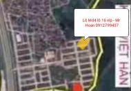 Chính chủ bán lô md4 lô 16 víp sát khu dân cư mới cần bán gấp giá siêu rẻ 0912799437