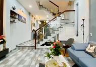 Nhà 1 trệt 2 lầu, 4 phòng ngủ, sổ sẵn, đường nhựa 7m ngay chợ phường hiệp an, thủ dầu một