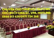 Cho thuê hội trường, tổ chức sự kiện 50 - 300 chỗ ngồi Quận Thanh Xuân. Lh:0866 613 628