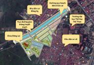 Tôi cần bán lô đất 2 mặt tiền dự án KĐT mới Trang Hạ Từ Sơn.