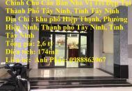 Chính Chủ Cần Bán Nhà Vị Trí Đẹp Tại Thành Phố Tây Ninh, Tỉnh Tây Ninh