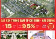 Đất nền sổ đỏ - dự án Palm Chí Linh- Hải Dương