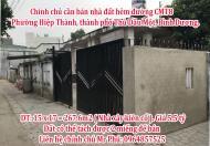 Chính chủ cần bán nhà đất hẻm đường CMT8, phường Hiệp Thành, thành phố Thủ Dầu Một, Bình Dương.