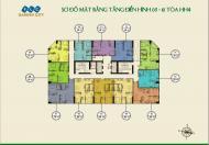 Bán gấp căn 2 ngủ 59m2 tầng đẹp tại FLC Đại Mỗ giá chỉ hơn 1 tỷ