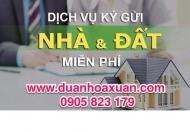 Nhận mua bán ký gửi nhà đất  Hòa Xuân, Nam Hòa Xuân-Đà Nẵng