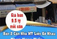 Bán 2 Căn Nhà MT Liền Kề Nhau Tại Phan Ngọc Hiển, Phường 3 TP Bạc Liêu.