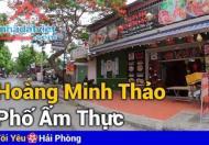 Bán đất tặng nhà mặt đường Hoàng Minh Thảo, Lê Chân DT: 75m2 Giá: 95tr/m2 LH: 0988199918