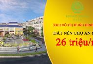 Ra nhanh lô chợ mới Hưng Định City - Liên hệ: 0375.924.840