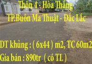 Chính chủ bán đất tại Thôn 4, Hòa Thắng,TP.Buôn Ma Thuật, Đắc Lắc