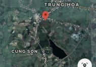 Chủ kẹt tiền mùa Covid bán cắt lỗ lô đất ngay TT Củng Sơn, Sơn Hoà