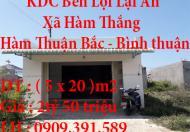 Chính Chủ Cần Bán Nhà Lô b4/21 Khu Dân Cư Bến Lội Lại An Bình Thuận
