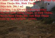 Chính Chủ Bán Lô Đất Thổ Cư Vị Trí Đẹp tại Hàm Thuận Bắc, Bình Thuận