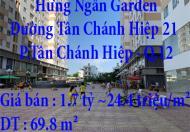 Chính chủ cần bán căn hộ chung cư Hưng Ngân, Quận 12, TP. HCM
