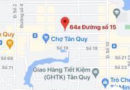 Cho Thuê nhà 64A Đường 15 Tân Kiểng,Quận 7 dt 5.4x21m,1 lầu giá 35 tr