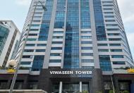 Cho thuê văn phòng 100,200,400m tại Viwaseen tower 48 Tố hữu, quận Nam Từ Liêm