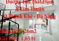 Chính chủ bán nhà đường Tôn Thất Đạm, P. Tâm Thuận, Q.Thanh Khê, Đà Nẵng