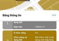 HTQ9.05-Bán lô đất 2680m2 góc mặt tiền Liên phường và Bưng ông thoàn.Giá 120 Tỷ