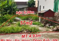 Cần bán 57m2 Mỹ Nội, bắc Hồng, Đông ANh