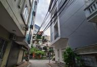 Cho thuê nhà riêng phố Đặng Thùy Trâm: DT 55m2x 4 tầng, lô góc, giá 22tr
