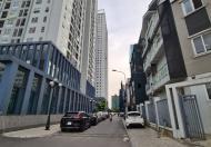 Cho thuê nhà liền kề khu A10 Nam Trung Yên: DT75m2x4 tầng, mặt tiền 6m, giá 45tr