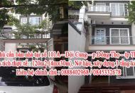 Chính chủ cần bán nhà tại số 101A – Đội Cung – p.Đông Thọ - tp Thanh Hóa