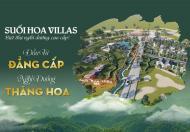 Đầu tư ngay biệt thự nghỉ dưỡng Suối Hoa Villas tại Lương Sơn Hoà Bình chỉ từ 7,8tr/m2.