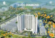 Siêu rẻ, siêu đẹp, ký hợp đồng trực tiếp, chỉ cần 480tr sở hữu căn hộ 2 ngủ Tecco Diamond