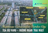 Vị trí độc tôn –Bán Nhà Phố Thương Mại 2 mặt tiền đẹp nhất xứ Thanh.