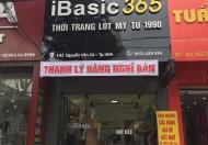 Chuyển nhượng cửa hàng số 142 Nguyễn Văn Cừ, TP Vinh, Nghệ An