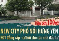 Dự án new city phố nối hưng yên chỉ từ 13triệu/m diện tích 100m2 lh 0983463457.