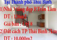 Chính chủ bán nhà đất tại thành phố Thái Bình