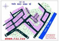 Đất nền dự án Thời Báo Kinh Tế Sài Gòn, phường Phú Hữu, quận 9. Dự án có vị thế khu đường Bưng Ông Thoàn, sổ đỏ