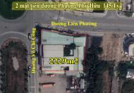 Bán 2299m2 đất 2 mặt tiền Võ Chí Công & Liên Phường, Phú Hữu, Quận 9 – 145 tỷ.