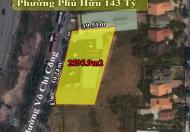 2595.9m2 đất mặt tiền đường Võ Chí Công Phường Phú Hữu thành phố thủ đức