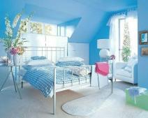 Ngôi nhà xanh dương siêu đáng yêu tại Quận 12