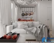 Thiết kế nhà nhỏ đẹp 30m2 khiến chủ nhân muốn buồn cũng khó