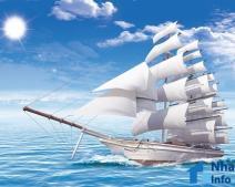 Ý nghĩa tranh thuận buồm xuôi gió trong phong thủy