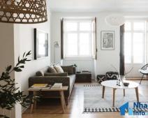 Thiết kế căn hộ 50m2 2 phòng ngủ vừa hiện đại, vừa sang trọng